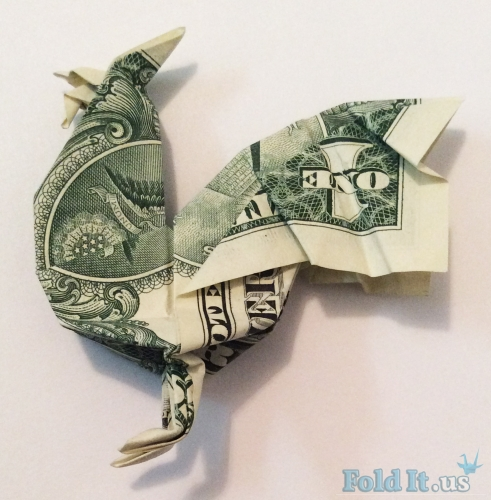 Butterfly Origami Dollar Easy
